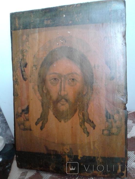 Икона Спас нерукотворный, фото №2