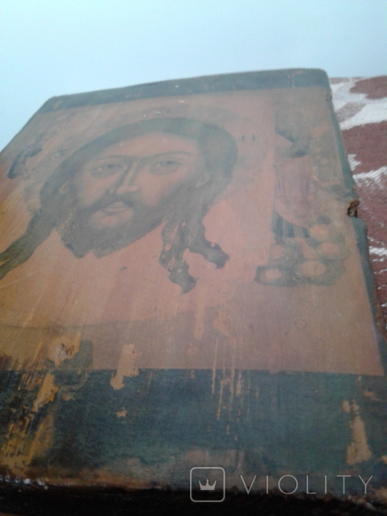 Икона Спас нерукотворный, фото №5