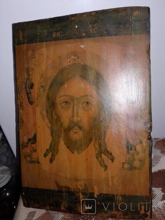 Икона Спас нерукотворный, фото №13