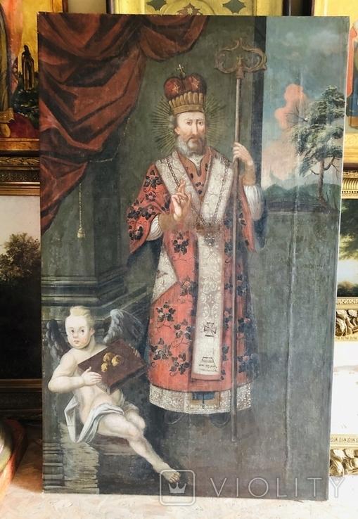 Святитель Христов Николай 18 век ( 1720-е гг. ), фото №2