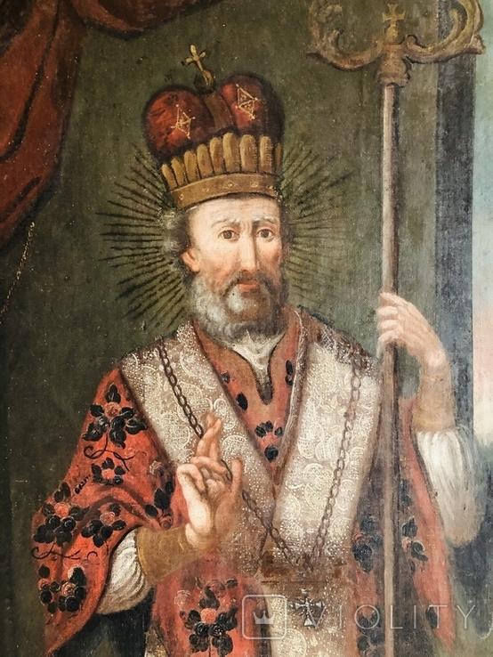 Святитель Христов Николай 18 век ( 1720-е гг. ), фото №4