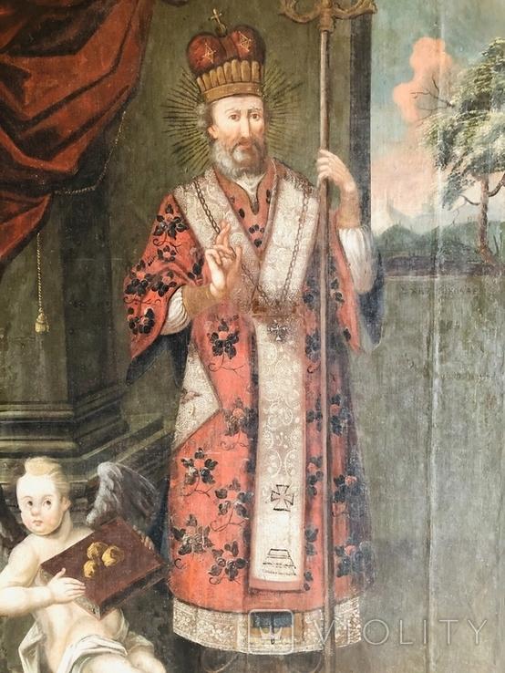 Святитель Христов Николай 18 век ( 1720-е гг. ), фото №9