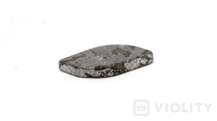 Заготовка-вставка з метеорита Seymchan, 1,3 г, із сертифікатом автентичності, фото №6