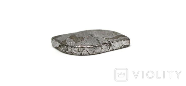 Заготовка-вставка з метеорита Seymchan, 1,3 г, із сертифікатом автентичності, фото №7