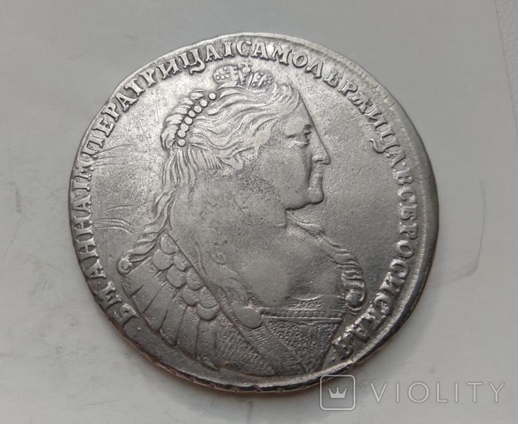 Рубль 1737 лот 1, фото №2