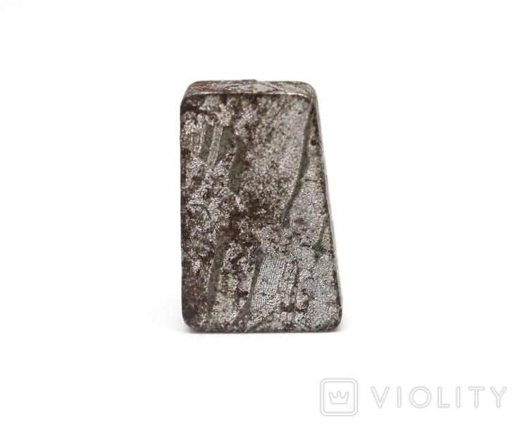 Заготовка-вставка з метеорита Seymchan, 3,0 г, із сертифікатом автентичності, фото №2