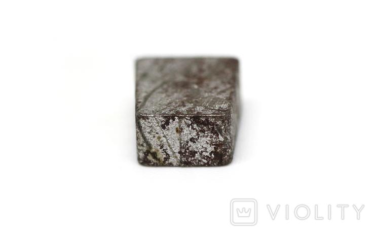 Заготовка-вставка з метеорита Seymchan, 3,0 г, із сертифікатом автентичності, фото №9