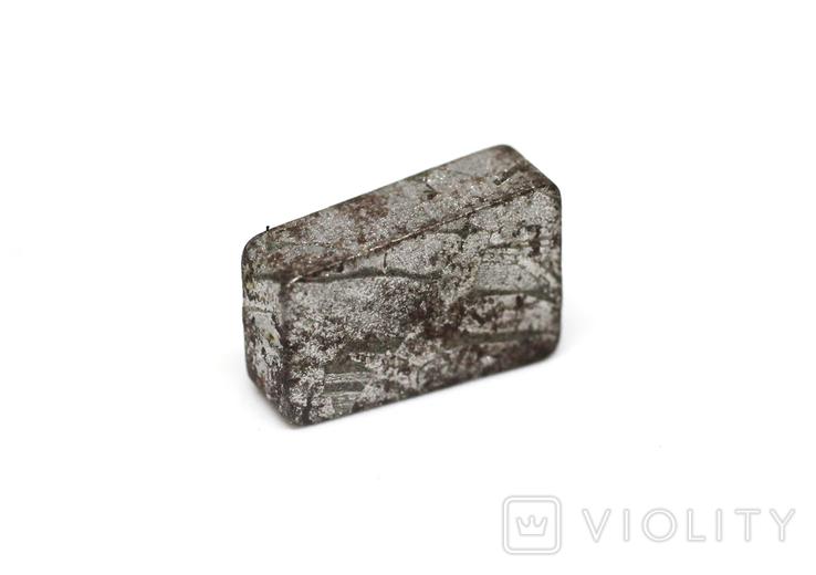 Заготовка-вставка з метеорита Seymchan, 3,0 г, із сертифікатом автентичності, фото №12