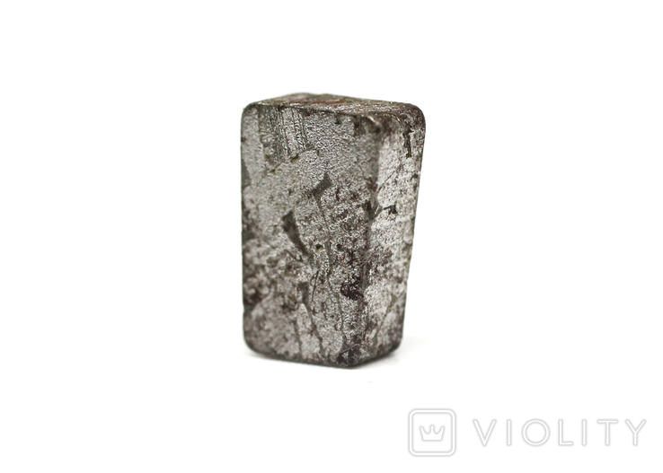 Заготовка-вставка з метеорита Seymchan, 3,0 г, із сертифікатом автентичності, фото №13