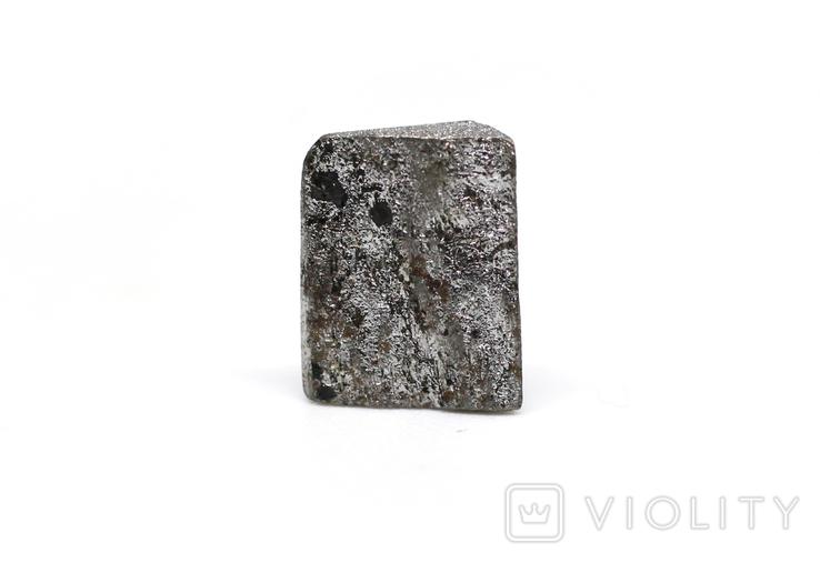 Заготовка-вставка з метеорита Seymchan, 1,1 г, із сертифікатом автентичності, фото №5