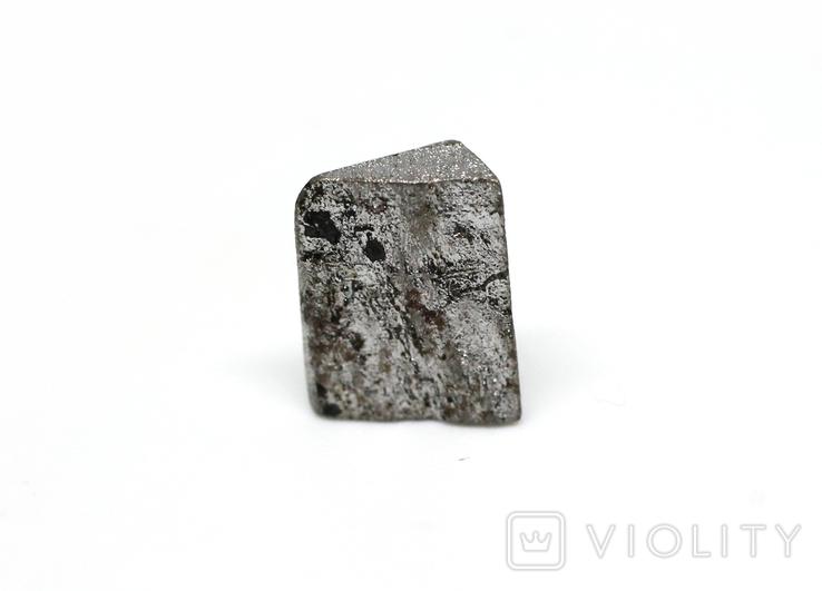 Заготовка-вставка з метеорита Seymchan, 1,1 г, із сертифікатом автентичності, фото №6