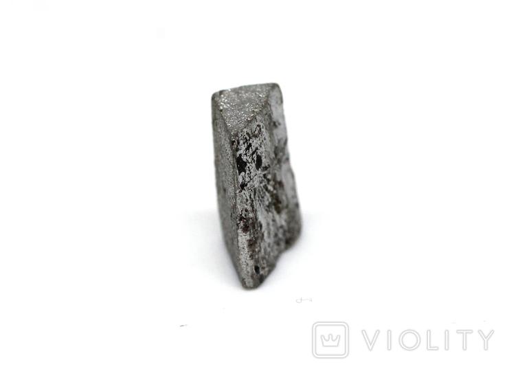 Заготовка-вставка з метеорита Seymchan, 1,1 г, із сертифікатом автентичності, фото №9