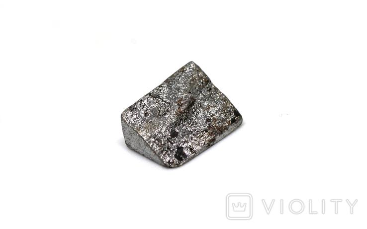 Заготовка-вставка з метеорита Seymchan, 1,1 г, із сертифікатом автентичності, фото №10