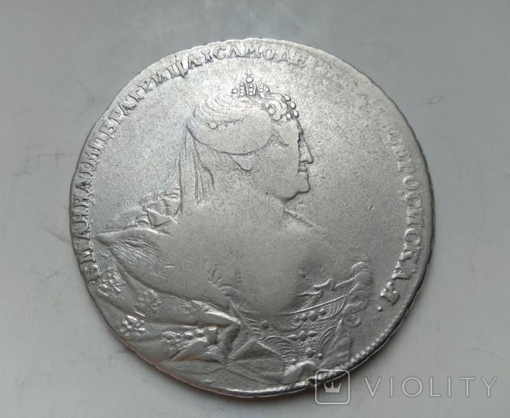 Рубль 1737 лот 2, фото №3