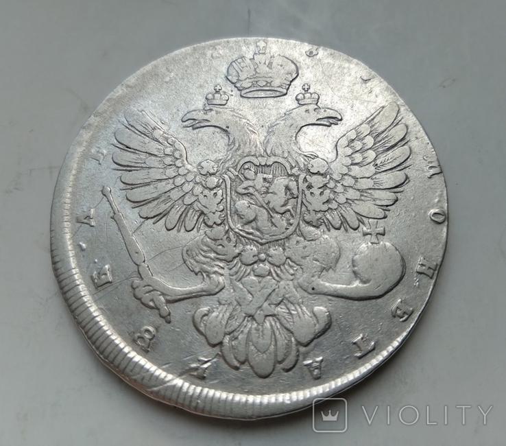 Рубль 1737 лот 2, фото №4