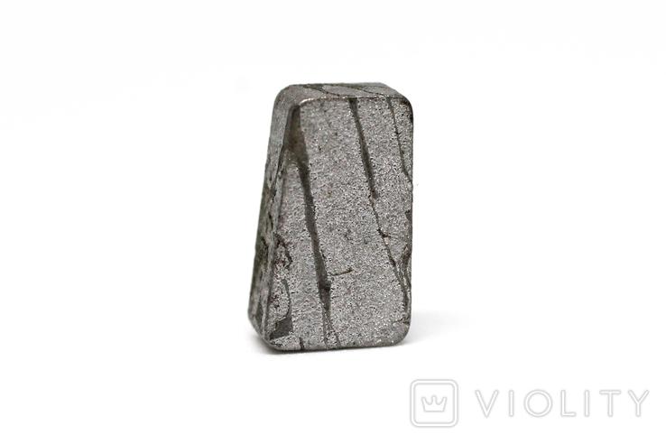 Заготовка-вставка з метеорита Seymchan, 2,1 г, із сертифікатом автентичності, фото №2