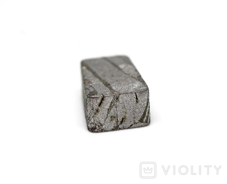Заготовка-вставка з метеорита Seymchan, 2,1 г, із сертифікатом автентичності, фото №9