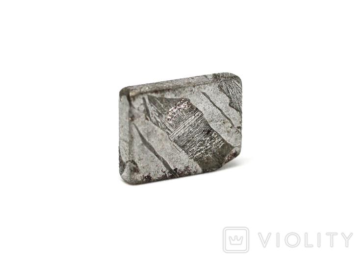 Заготовка-вставка з метеорита Seymchan, 1,9 г, із сертифікатом автентичності, фото №7