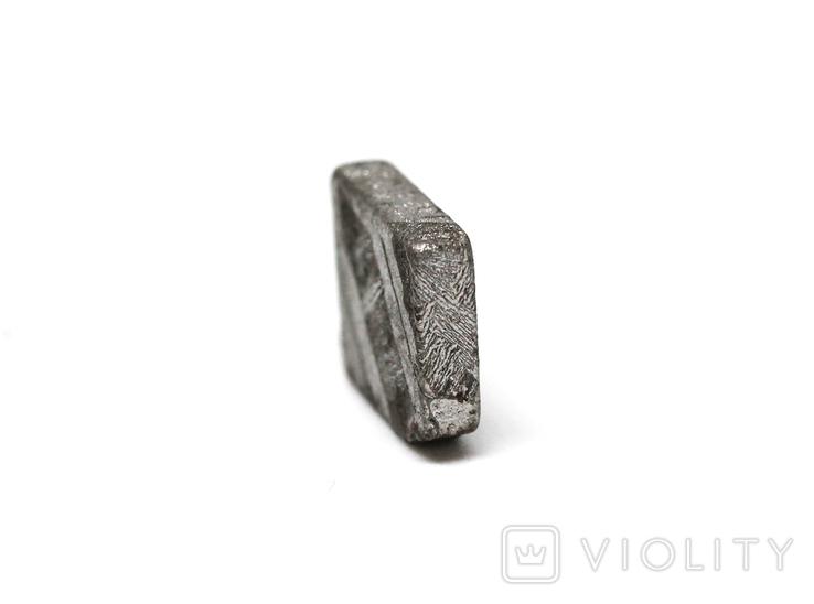 Заготовка-вставка з метеорита Seymchan, 1,9 г, із сертифікатом автентичності, фото №8