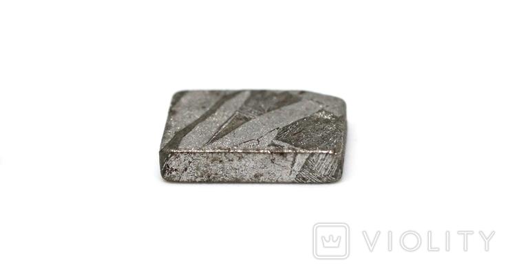Заготовка-вставка з метеорита Seymchan, 1,9 г, із сертифікатом автентичності, фото №9