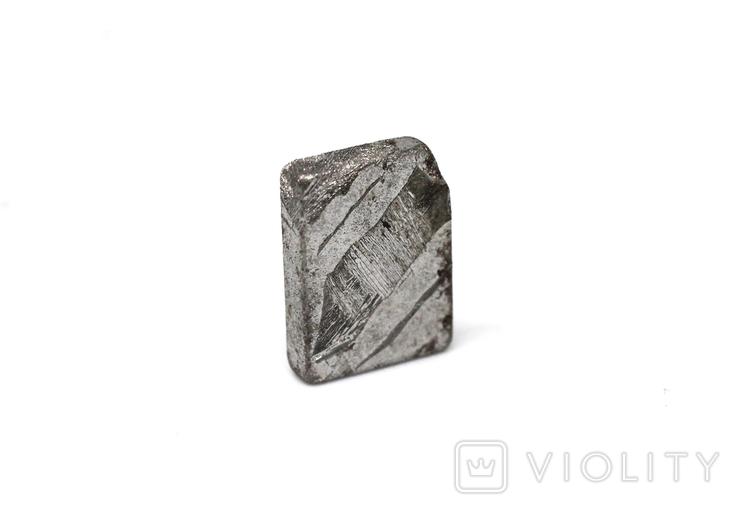 Заготовка-вставка з метеорита Seymchan, 1,9 г, із сертифікатом автентичності, фото №11