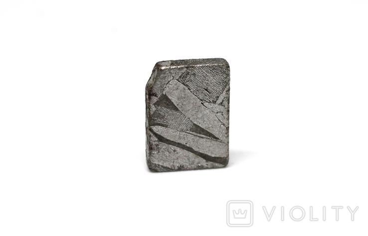 Заготовка-вставка з метеорита Seymchan, 1,9 г, із сертифікатом автентичності, фото №12