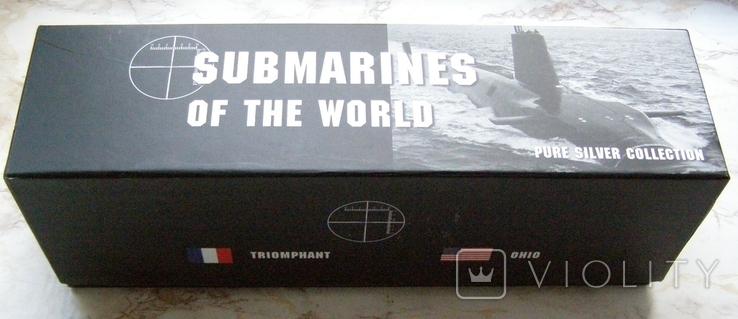 """Набор монет """"Субмарины мира"""", 2010 г., фото №2"""