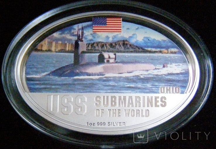 """Набор монет """"Субмарины мира"""", 2010 г., фото №8"""