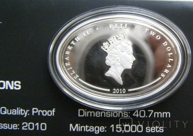 """Набор монет """"Субмарины мира"""", 2010 г., фото №10"""