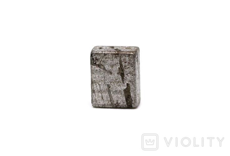 Заготовка-вставка з метеорита Seymchan, 1,4 г, із сертифікатом автентичності, фото №7