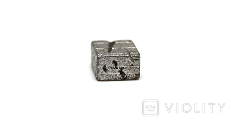 Заготовка-вставка з метеорита Seymchan, 1,4 г, із сертифікатом автентичності, фото №9