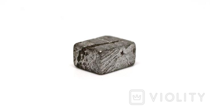 Заготовка-вставка з метеорита Seymchan, 1,4 г, із сертифікатом автентичності, фото №10