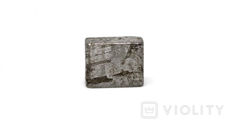Заготовка-вставка з метеорита Seymchan, 1,4 г, із сертифікатом автентичності, фото №2