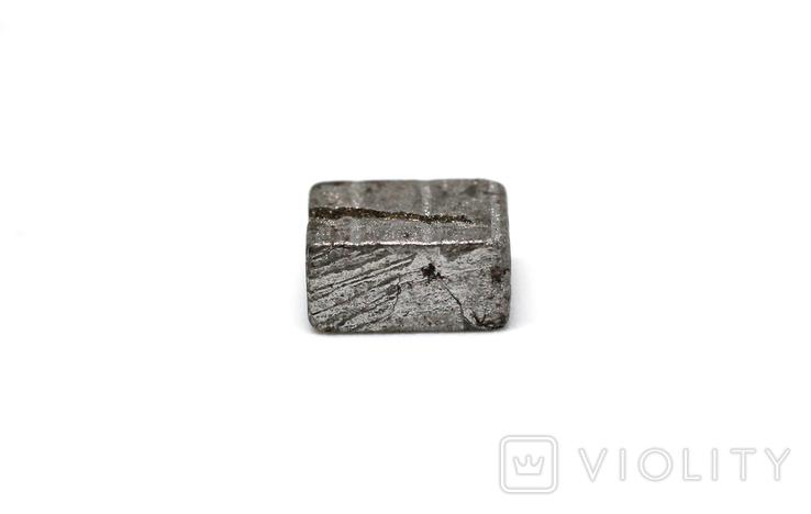 Заготовка-вставка з метеорита Seymchan, 1,4 г, із сертифікатом автентичності, фото №12