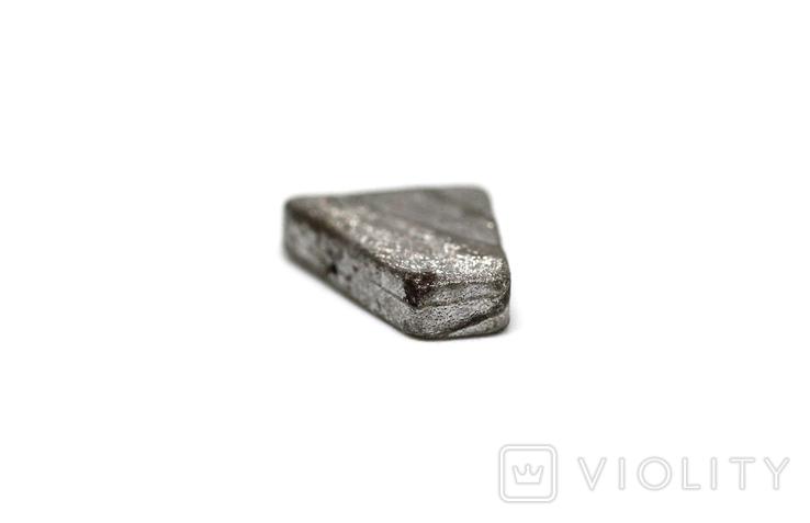 Заготовка-вставка з метеорита Seymchan, 1,5 г, із сертифікатом автентичності, фото №10
