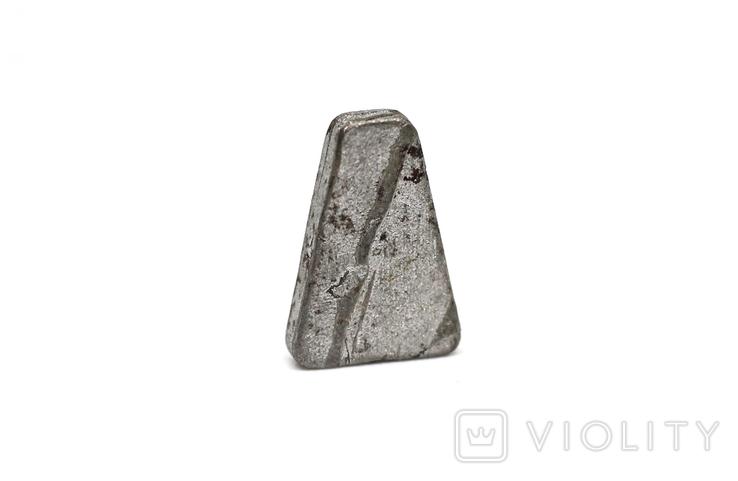 Заготовка-вставка з метеорита Seymchan, 1,5 г, із сертифікатом автентичності, фото №11
