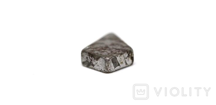 Заготовка-вставка з метеорита Seymchan, 1,4 г, із сертифікатом автентичності, фото №8