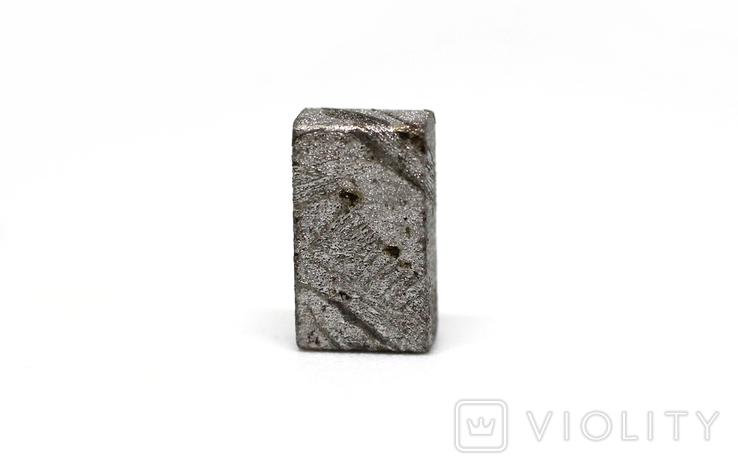 Заготовка-вставка з метеорита Seymchan, 1,5 г, із сертифікатом автентичності, фото №5