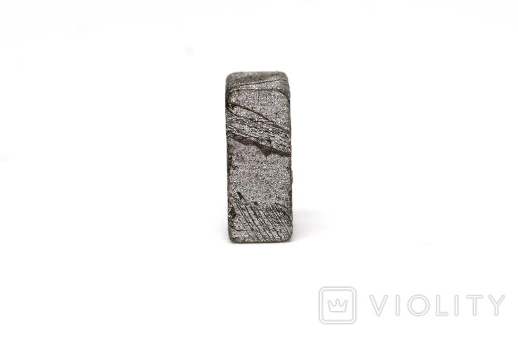 Заготовка-вставка з метеорита Seymchan, 1,5 г, із сертифікатом автентичності, фото №7