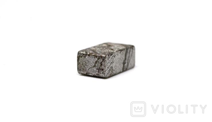 Заготовка-вставка з метеорита Seymchan, 1,5 г, із сертифікатом автентичності, фото №9