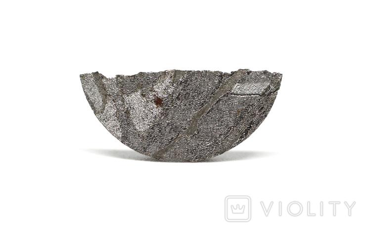 Заготовка-вставка з метеорита Seymchan, 0,8 г, із сертифікатом автентичності, фото №7