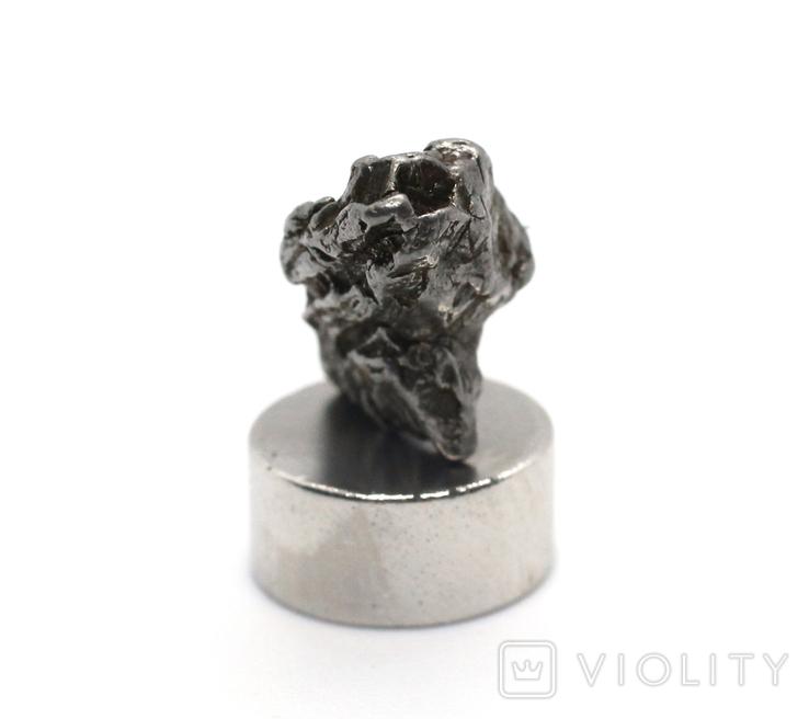 Залізний метеорит Campo del Cielo, 2,0 грам, із сертифікатом автентичності, фото №6