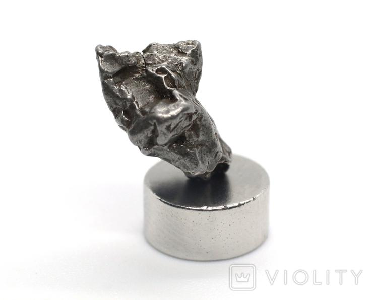 Залізний метеорит Campo del Cielo, 2,0 грам, із сертифікатом автентичності, фото №11