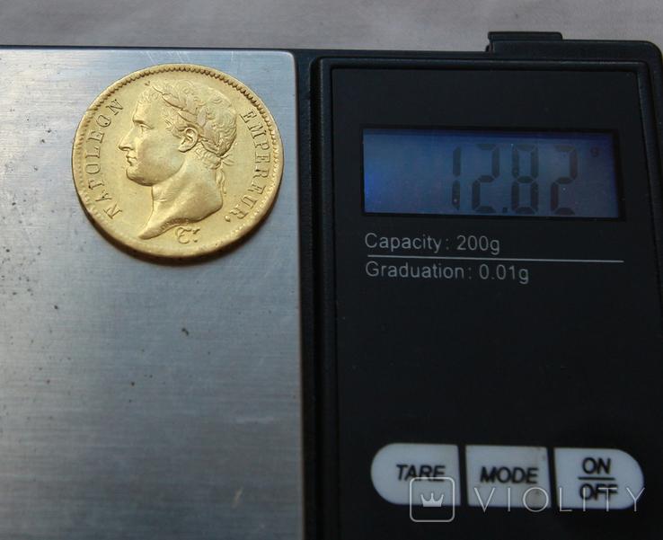40 франков 1811 Франция Наполеон I золото 12.82 г, фото №4