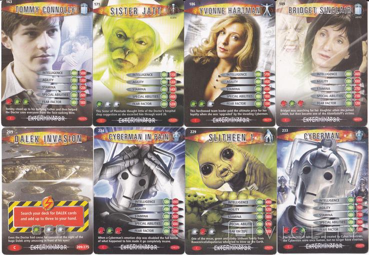"""43.Карточки детские коллекционные """"Doctor Who.Battles in time"""" (58 листов) Англия, фото №7"""