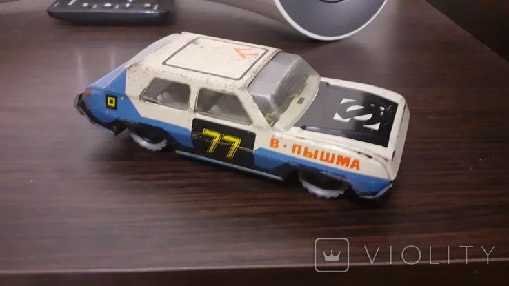 Машинка металлическая Ралли СССР., фото №8