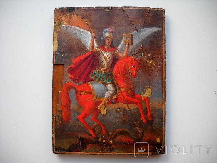 Икона Архангел  Михаил, фото №2