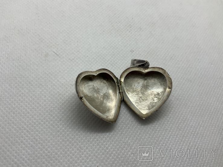 Кулончик сердечко, фото №4