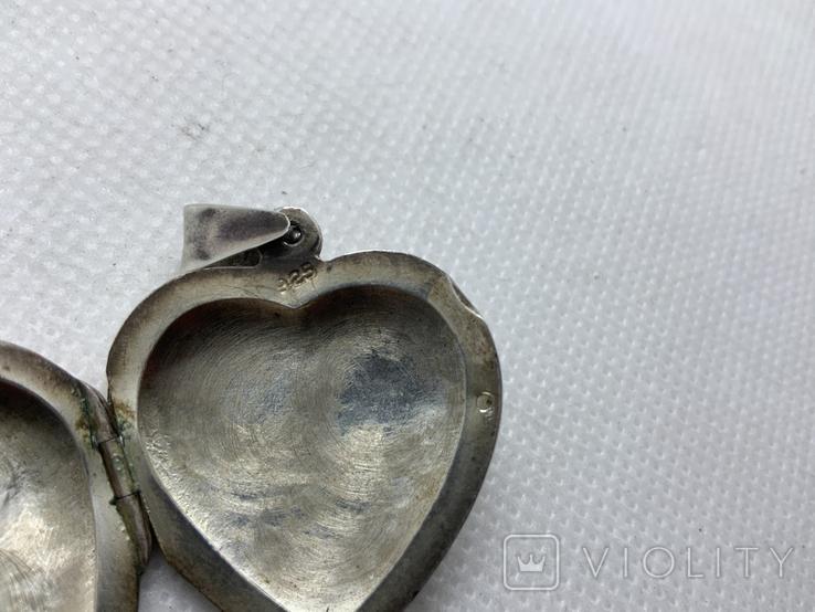 Кулончик сердечко, фото №5