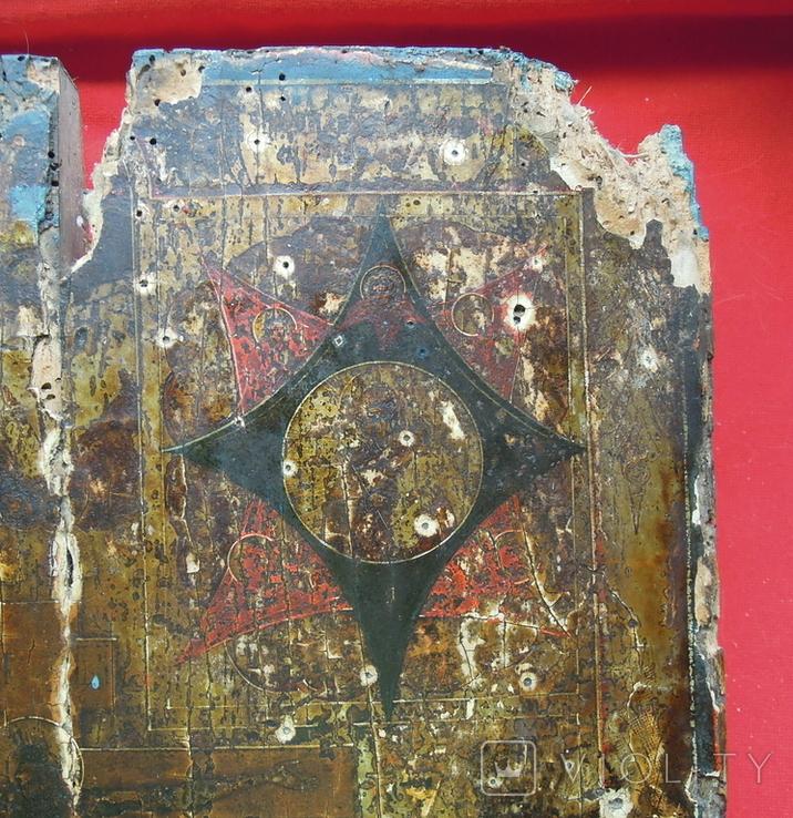 Староверческая Ветковская Икона четырехчастник с Распятием Господним, фото №4